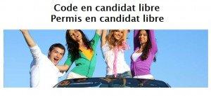 passer son code de la route en candidat libre