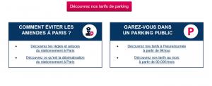 carte de parking