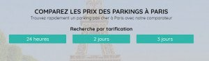 location de parking pas cher Paris