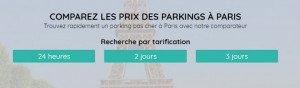 location de parking pas cher Paris